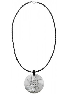 Bali Carved Shell Resin Penden Sliding Necklace Chain Direct Artisan