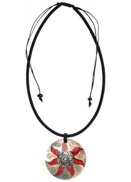 Seashell Resin Pendant Sliding Necklace Affordable