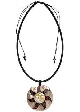 Resin Pendant Seashell Sliding Necklace Shell Made In Bali