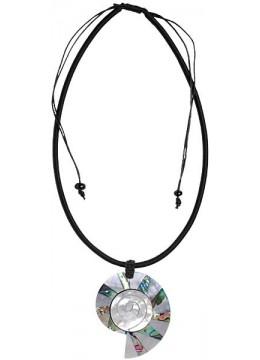 Resin Pendant Seashell Sliding Necklace Hot Seller