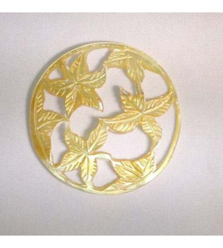 100% Manually Hand Carving Mop Shell Pendant Bali Pendants, Mop Seashell Pendants image