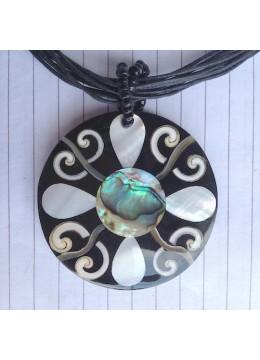 Seashell Resin Pendant