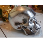 in Handmade Skull Sculpture Statue