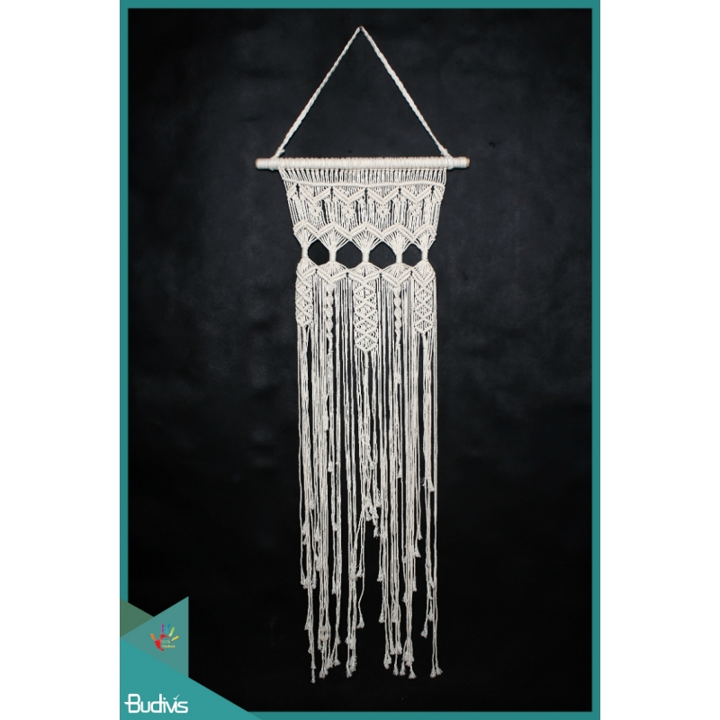 Large Wall Woven Hanging Macrame