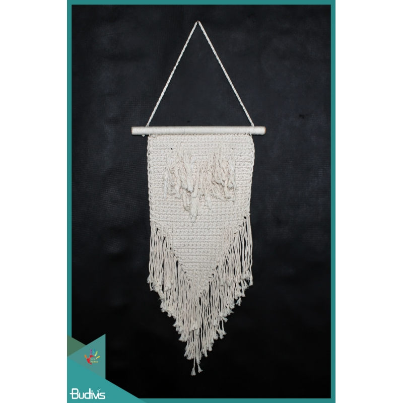 For Sale Bali Wall Woven Hanging Macrame Handmade
