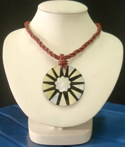 Beaded Necklace Pendant Bali