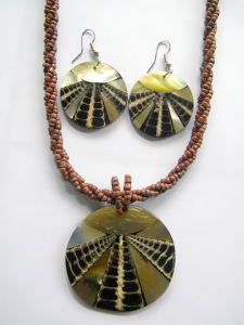 Bali Necklace Bead Pendant Set Manufacturer