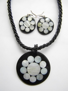 Bali Necklace Bead Pendant Set Top Selling