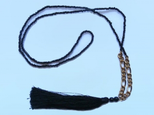 Tassel Necklace Chain Layered