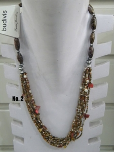 Beaded Necklace Multi Strand