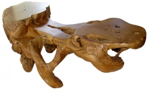 Natural Wood Root Chair