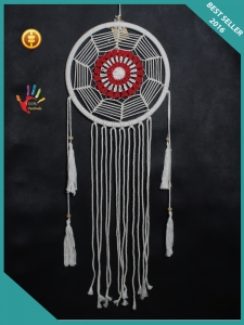 2017 Macrame Wall Hanging Boho Dream Catcher Hippie