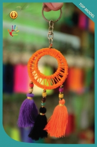 New! Mini Catcher Tassel Keychain