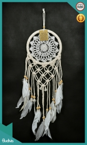 Affordable Hippie Hanging Dreamcatcher Crocheted