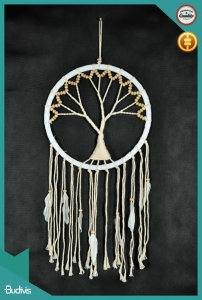 2017 Top Selling Hippie Tree Hanging Dreamcatcher Crocheted