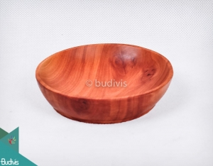 Wooden Bowl Up To Sauce Place