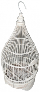 Birdcage Cone Bird House