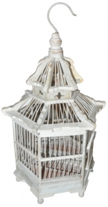 Birdcage Crown S Bird House