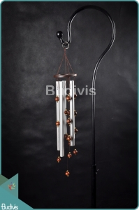 Classic Style Aluminium Wind Chimes With Wooden Balls Windcatcher