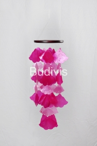 Flower Shape Capiz Wind Chimes Relaxing Sound