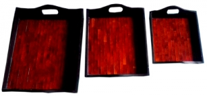 Placemats Glass Set 3