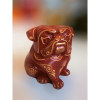 100% Handmade Resin Bulldog statue