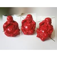 100% Handmade Resin Yogi Statue Set 3
