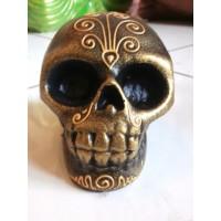 100% Handmade Skull Sculpture Statue