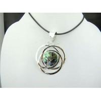 Abalone Shell Silver