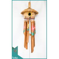 Affordable Bird House Garden Hanging Burn Bamboo Wind Chimes