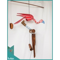 Affordable Garden Hanging Bird Bamboo Wind Chimes