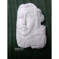 Bali Ox Bone Carved Pendant Spirit Model