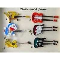 Guitar Double Stand cartoon