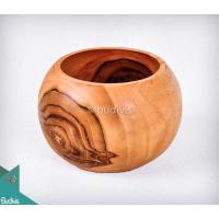 Wooden Bowl Soup Medium